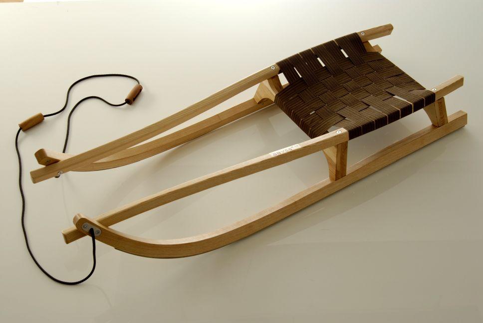 Luge En Bois Deco : Luge en bois de comp?tition Sirch, une belle luge haut de gamme.